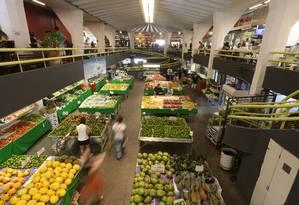 Mercado de Pinheiros, em São Paulo Foto: Pedro Kirilos / Agência O Globo