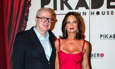 Luiza Brunet com o empresário Lirio Parisotto Foto: Arquivo O Globo