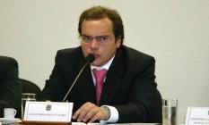 O doleiro Lúcio Bolonha Funaro em 2006 Foto: Roberto Stuckert Filho / Agência O Globo / 8-3-2006