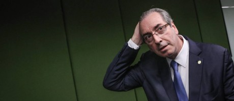 O presidente da Câmara afastado, Eduardo Cunha (PMDB-RJ) Foto: André Coelho / Agência O Globo