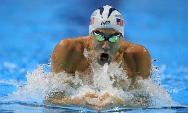 Michael Phelps venceu a seletiva americana dos 200m medley Foto: Orlin Wagner / AP