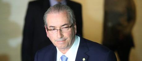 O presidente afastado da Câmara dos Deputados, Eduardo Cunha (PMDB-RJ) Foto: Andre Coelho / Agência O Globo / 5-5-2016