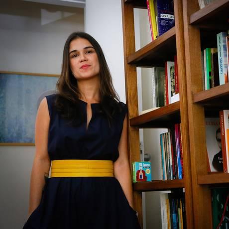 """Luana Carvalho: """"Fui até o último planeta da galáxia para fazer aquilo acontecer"""", diz ela, sobre a criação da Casa Cais Foto: Pablo Jacob / Agência O Globo"""