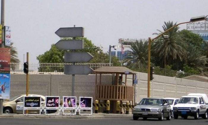 Consulado americano em Jeddah, na Arábia Saudita Foto: Arquivo