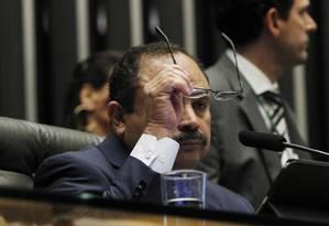 O presidente interino da Câmara, Waldir Maranhão (PP-MA) Foto: Givaldo Barbosa / Agência O Globo