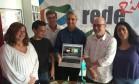 Molon com dirigentes da Rede e do PV Foto: Marco Grillo