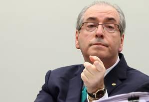 O presidente afastado da Câmara dos Deputados, Eduardo Cunha (PMDB-RJ) Foto: Adriano Machado / Reuters/19-5-2016