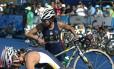Triatlo: transição da natação para a bicicleta é um momento crucial na modalidade