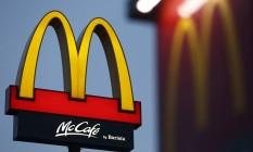 Logomarca do McDonald's Foto: Tomohiro Ohsumi / Bloomberg