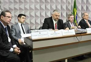 Comissão Especial do Impeachment ouve integrantes da junta pericial do Senado Foto: Geraldo Magela / Agência Senado