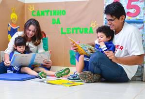 Quando pais se engajam no processo ganhos são maiores Foto: Divulgação Prefeitura de Boa Vista