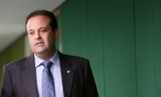 O líder do governo na Câmara dos Deputados, André Moura (PSC-SE) Foto: Andre Coelho / Agência O Globo / 4-7-2016