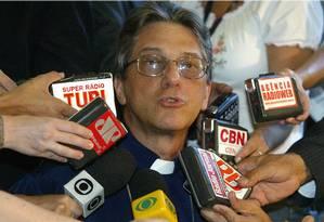 Dom Aldo Pagotto se tornou alvo de denúncias veiculadas pela imprensa local Foto: Givaldo Barbosa / ARQUIVO - 17.11.2006