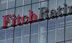 Prédio da Fitch Ratings em Londres Foto: Jason Alden / Bloomberg