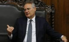 O senador e presidente do Congresso Nacional, Renan Calheiros Foto: Ailton Freitas / Agência O Globo
