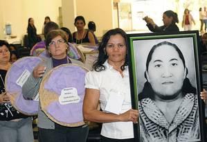 Líder sindical Margarida Alves é homenageada em 2012 Foto: Elza Fiúza/Portal Brasil/Divulgação