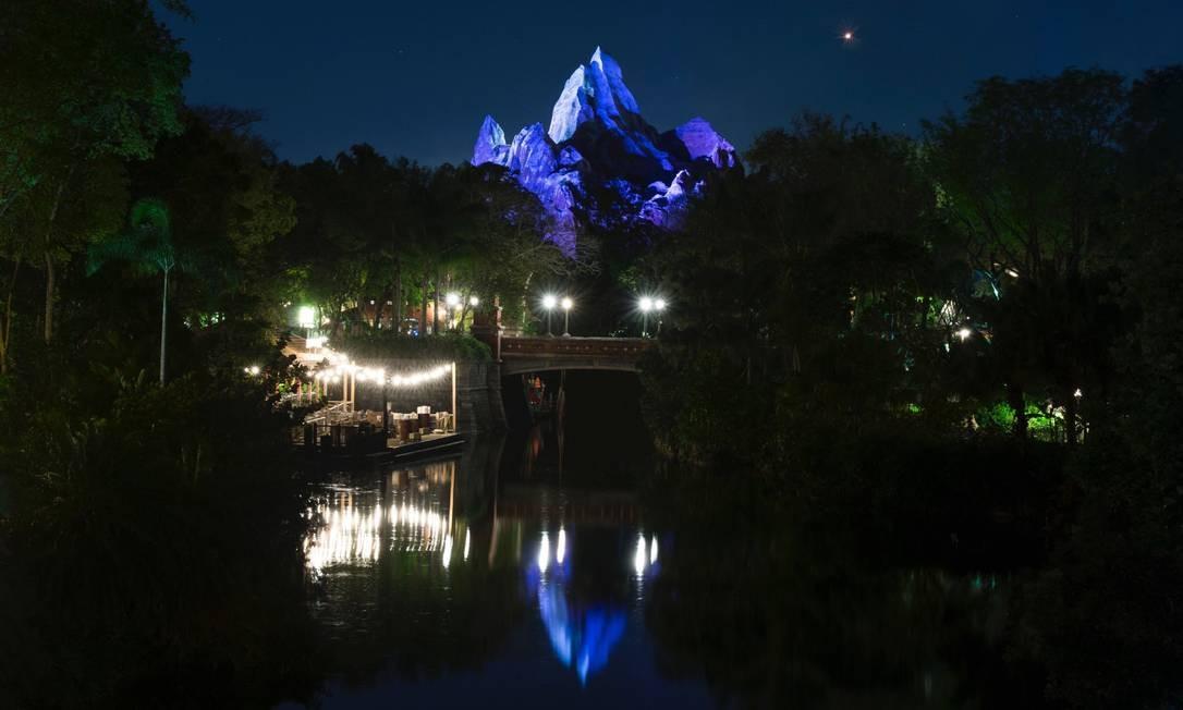 A partir deste ano o Animal Kingdom passa a funcionar à noite, como os outros parques da Disney Foto: Divulgação / Disney Parks