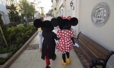 Os parques do Walt Disney World também têm novidades para o verão de 2016. A área de compras e gastronomia Disney Springs está finalmente completa e até é possível encontrar Mickey e Minnie batendo perna por lá Foto: Phelan Ebenhack / Disney Parks / Divulgação