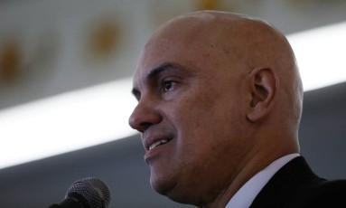 O ministro da Justiça, Alexandre de Moraes Foto: Pablo Jacob / Agência O Globo / 6-7-2016