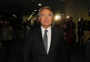 O presidente do Senado, Renan Calheiros Foto: Ailton Freitas / Agência O Globo / 5-7-2016