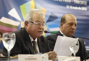 O empresário Emilio Odebrecht em 2013 Foto: Laura Marques / Agência O Globo / 14-5-2013