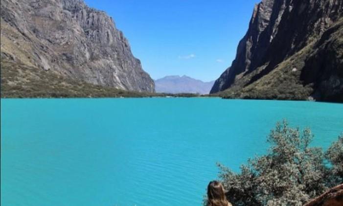 Lago Llanganuce - Peru Foto: @aboutmytrips / Instagram