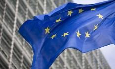 Bandeira da União Europeia Foto: Jasper Juinen / Bloomberg