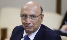 O ministro da Fazenda Henrique Meirelles Foto: ANDRE COELHO / Agência O Globo