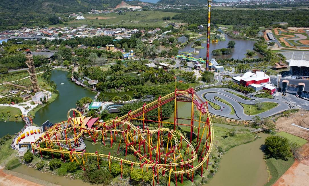 Beto Carrero World é eleito o melhor parque de diversão da América do Sul