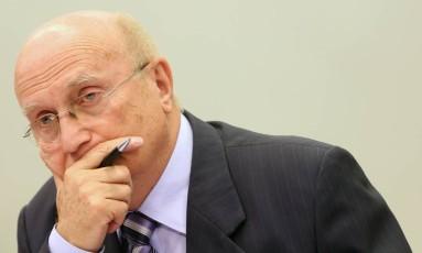 O deputado Osmar Serraglio (PMDB-PR), presidente da CCJ Foto: Andre Coelho / Agência O Globo / 6-7-2016