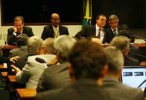 Reunião do colégio de líderes discute o dia da eleição para presidência da Câmara dos Deputados Foto: Ailton Freitas / Agência O Globo / 7-7-2016