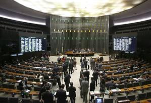 O plenário da Câmara dos Deputados Foto: Jorge William / Agência O Globo / 8-6-2016