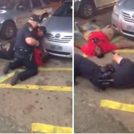 Vídeo registra momento em que policial dispara contra Alton Sterling Foto: REUTERS