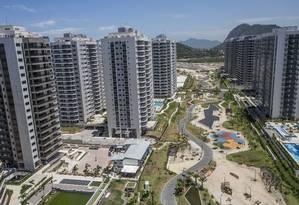 O bairro Ilha Pura tem 31 prédios e 3.604 apartamentos Foto: Divulgação