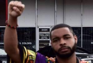 Micah Johnson, de 25 anos, vivia no subúrbio de Mesquite, em Dallas Foto: Reprodução Twitter