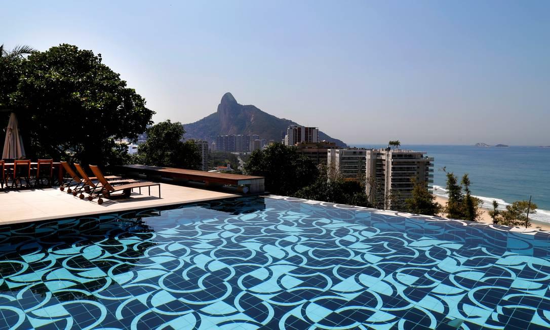 Mansão em São Conrado tem diária de R$ 150 mil Foto: Divulgação