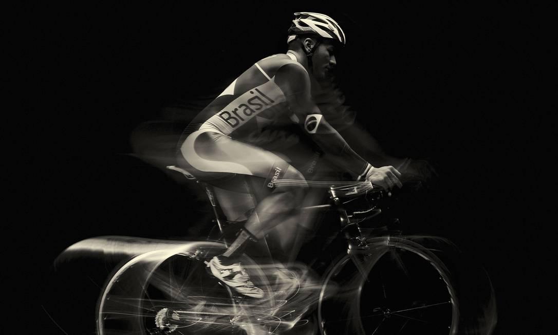 Kacio Freitas, do ciclista pista Daniel Mattar