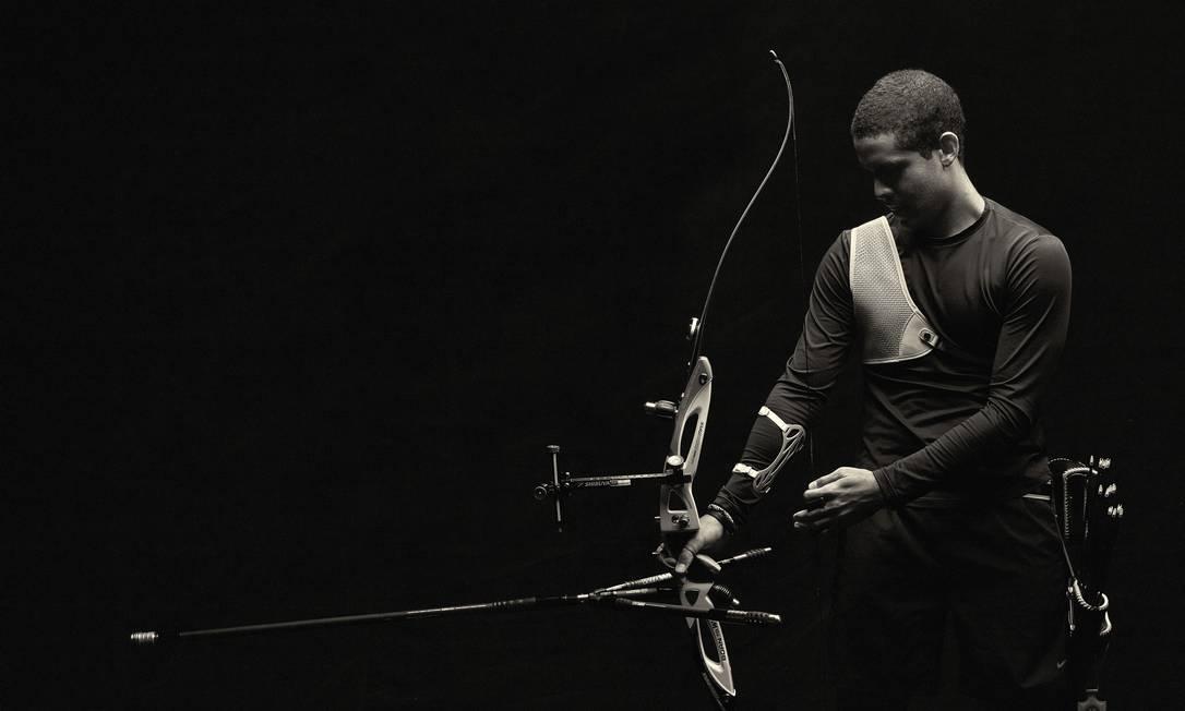 Bernardo Oliveira, do tiro com arco Daniel Mattar