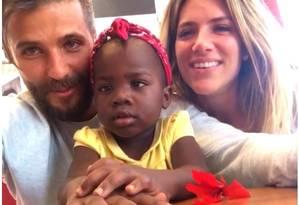 Bruno Gagliasso, Titi e Giovanna Ewbank Foto: Reprodução / Instagram / Reprodução