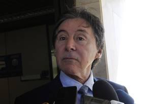 O senador Eunício Oliveira (PMDB-CE) Foto: Givaldo Barbosa / Agência O Globo