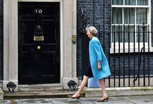 Theresa May: próxima premier Foto: LEON NEAL / AFP