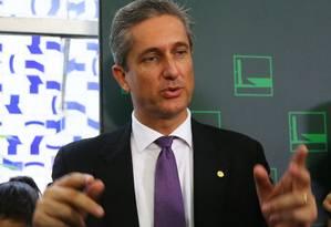 O presidente da Comissão do Impeachment, Rogério Rosso (PSD-DF) Foto: Ailton de Freitas / Agência O Globo 23/03/2016