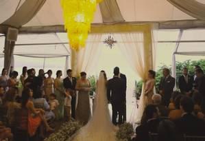 Festa de casamento produzida pelo grupo Bellini, que é acusado pelo MPF de desviar recursos obtidos via Lei Rouanet Foto: Reprodução