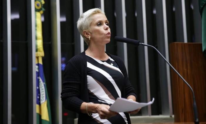 A deputada Cristiane Brasil (PTB-RJ) Foto: Ananda Borges / Câmara dos Deputados