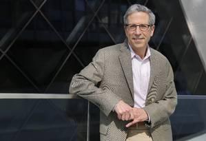 Eric Maskin, da Universidade de Harvard, prêmio Nobel de Economia Foto: Fabio Rossi / Agência O Globo