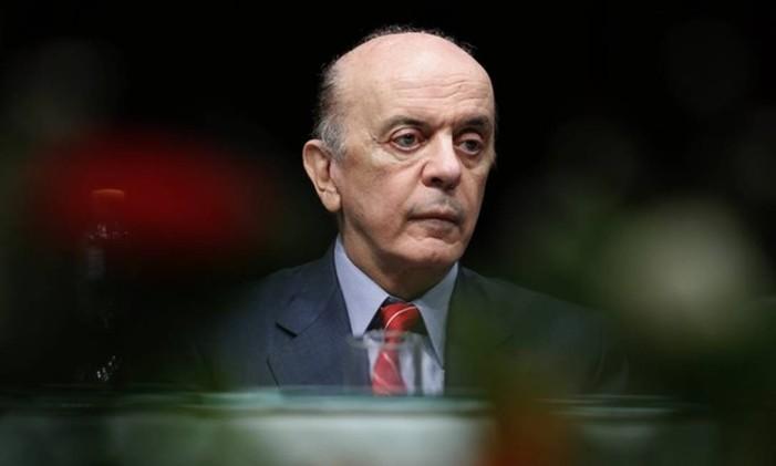 José Serra. Itamaraty disse levar em conta o princípio de isonomia ao conceder o benefício a religiosos Foto: Edilson Dantas