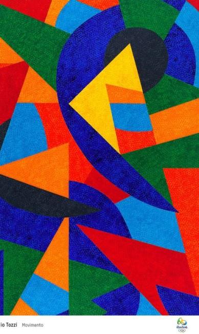'Movimento' é o nome da obra de Claudio Tozzi Divulgação