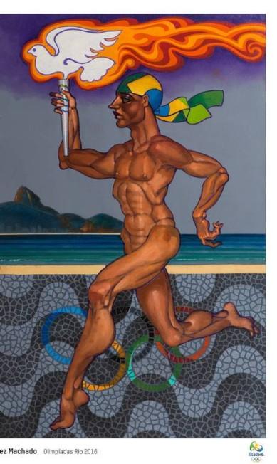 Juarez Machado criou a arte 'Olimpíadas Rio 2016' Divulgação