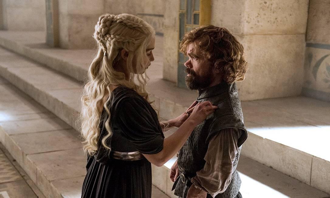 Cena do último episódio da sexta temporada de 'Game of Thrones' Foto: Divulgação / HBO