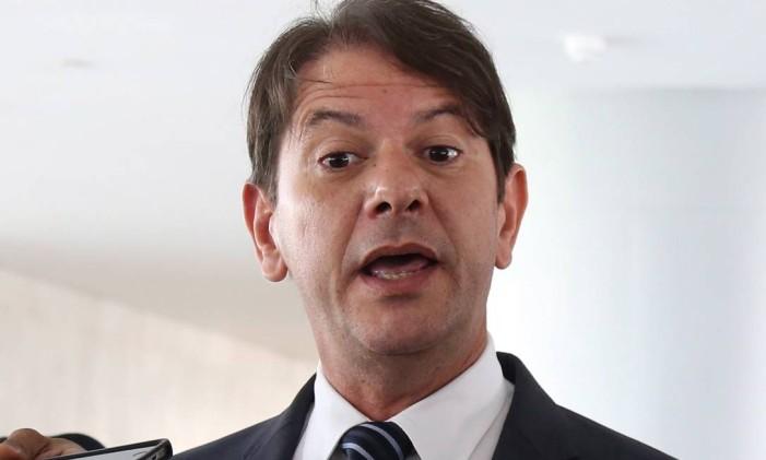O ex-ministro Cid Gomes Foto: Ailton de Freitas / Agência O Globo / 4-11-2014